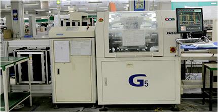 自動上板機和GKG全自動印刷機