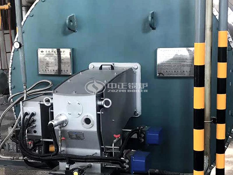 卓寶科技300萬大卡YQW系列燃氣臥式導熱油鍋爐項目