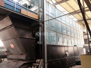 吉華集團1000萬大卡YLW系列臥式燃煤導熱油鍋爐項目
