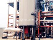 吉美印染700萬大卡YQL系列燃氣立式導熱油鍋爐項目
