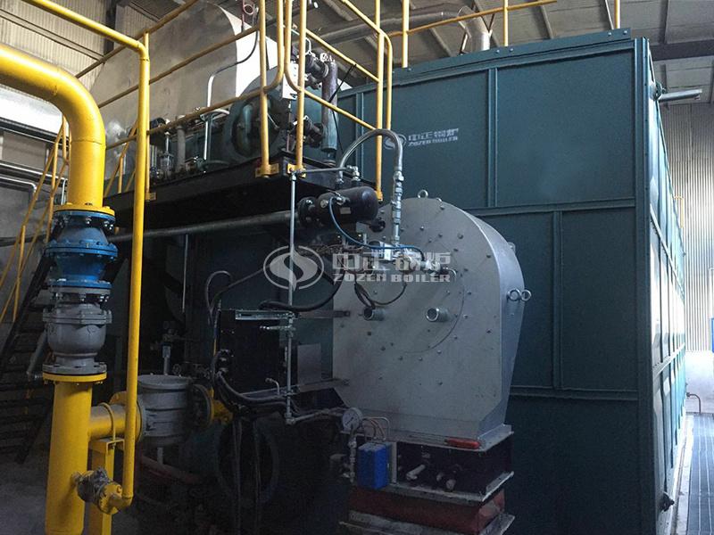 保定达亿纸业20吨SZS系列冷凝式燃气蒸汽锅炉项目
