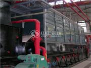 江西中烟10吨SZL系列燃煤蒸汽锅炉项目
