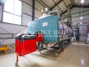 10噸WNS系列冷凝式燃氣蒸汽鍋爐項目(南陽第二人民醫院)