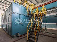 25吨SZS冷凝式燃气蒸汽锅炉项目(焦作豫竹方便面厂)