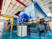 58MW SZS燃氣熱水鍋爐項目