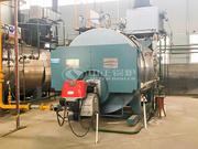4噸WNS冷凝式燃氣蒸汽鍋爐項目(中糧油脂)