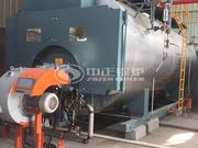 10噸WNS 系列冷凝式燃氣蒸汽鍋爐項目 (豐盈印染)