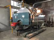 1.5噸WNS冷凝式燃氣蒸汽鍋爐項目(如皋市城西中學)