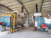 10噸WNS冷凝式燃氣蒸汽鍋爐項目(天虹食品)