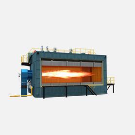 SZS系列燃油/燃氣過熱蒸汽鍋爐