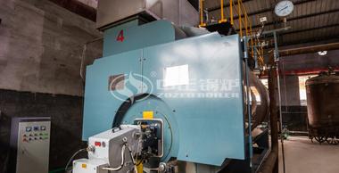 10吨WNS冷凝式燃气蒸汽锅炉项目(久鹏制药)