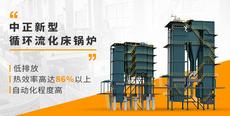 環保時代創新為先 中正低氮循環流化床鍋爐應運而生