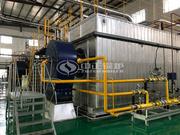 35噸SZS冷凝式燃氣蒸汽鍋爐項目(飛鶴乳業)