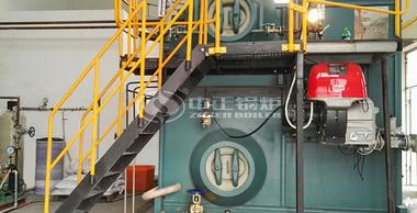 4吨SZS冷凝式燃气蒸汽锅炉项目(锦婷线缆)