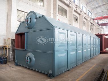 中正SZL系列燃煤(生物质)锅炉实物图