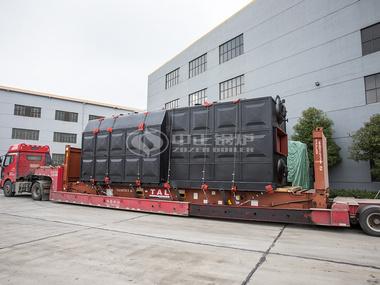 中正锅炉SZL系列燃煤水管锅炉发货现场
