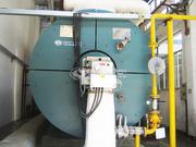浙江華帝紡織印染400萬大卡YQW系列燃氣臥式導熱油鍋爐項目