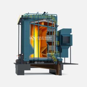 DHL系列生物質角管式鏈條爐排熱水鍋爐