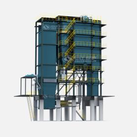 SHX系列循環流化床熱水鍋爐