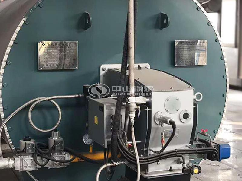 黃石泰華240萬大卡YQW系列燃氣臥式導熱油鍋爐項目