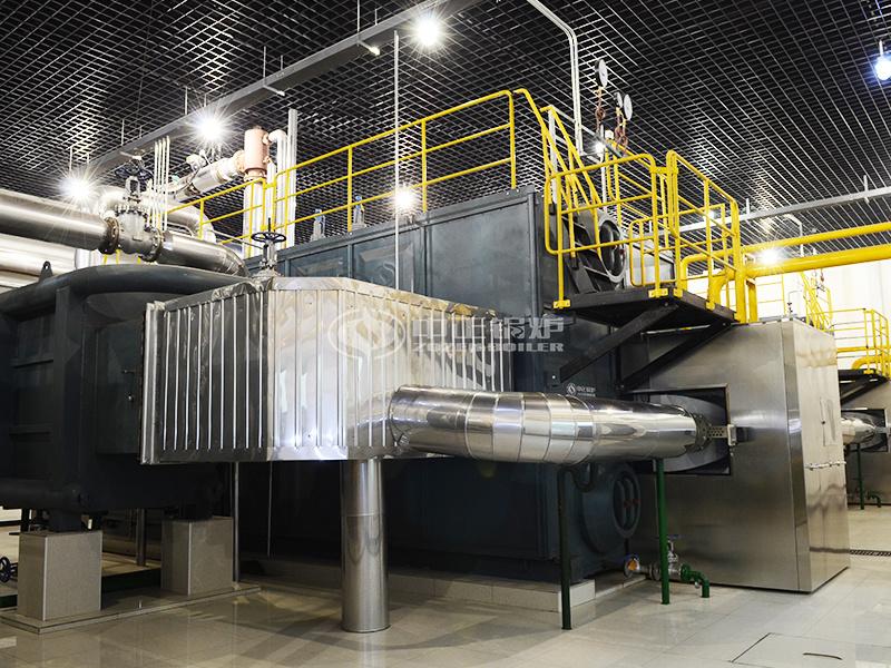 陜西中煙25噸SZS系列燃氣蒸汽鍋爐項目