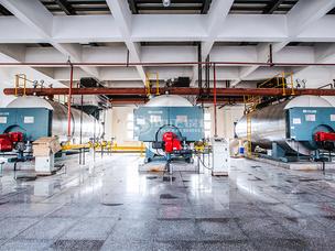 天津濟豐包裝紙業6噸WNS系列冷凝式燃氣蒸汽鍋爐項目