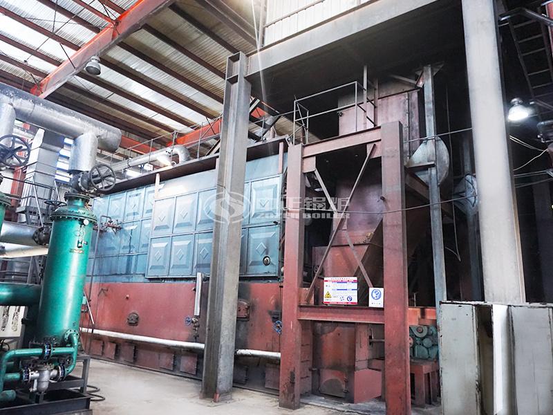哈藥集團15噸燃煤蒸汽鍋爐項目