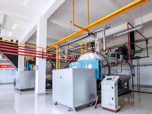 金陽飼料2噸WNS系列冷凝式燃氣鍋爐項目