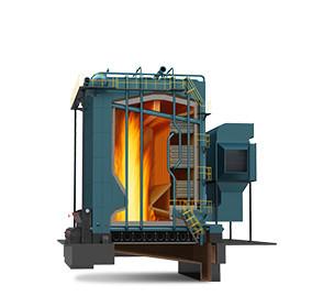 DHL系列生物质角管式链条炉排热水锅炉