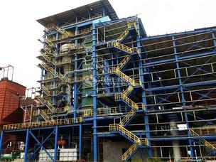 青海鹽湖35噸SHX系列循環流化床蒸汽鍋爐項目