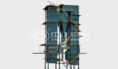 QXX燃煤循环流化床热水锅炉