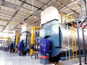 人大14MW WNS系列冷凝式燃氣鍋爐項目