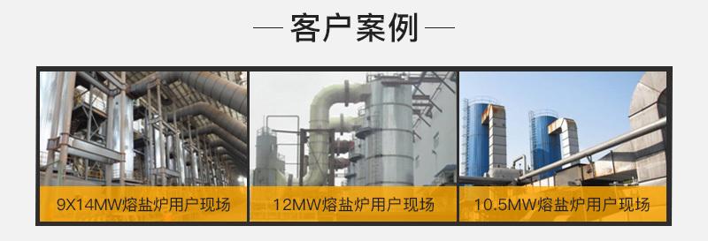 中正RYQ熔鹽爐鍋爐的經典案例