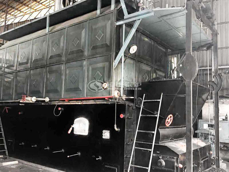 石羊集团6吨SZL系列燃煤蒸汽锅炉项目