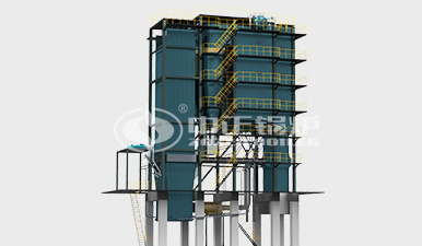 SHX循環流化床熱水鍋爐