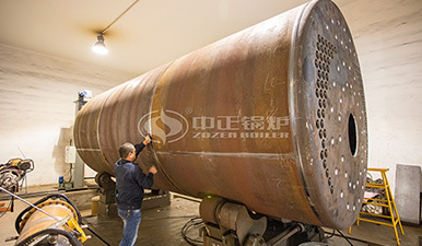 SZS燃气热水锅炉