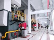 北京豐臺城建物業角門、望園供熱廠14MW SZS系列冷凝式燃氣熱水鍋爐項目