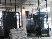 蚌埠華港生物飼料4噸DZL系列生物質蒸汽鍋爐項目