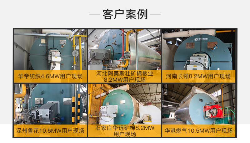 中正YQW系列燃氣臥式導熱油鍋爐的經典案例