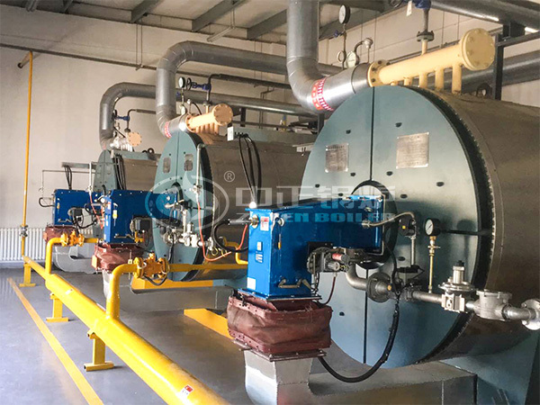 ZOZEN 3 stes of thermal fluid heaters for CP Group