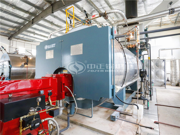 ZOZEN boiler for Sichuan Aning Food Co., Ltd. (the wholly-owned subsidiary of Juewei Food)