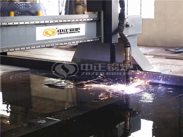 ZOZEN underwater plasma cutting machine