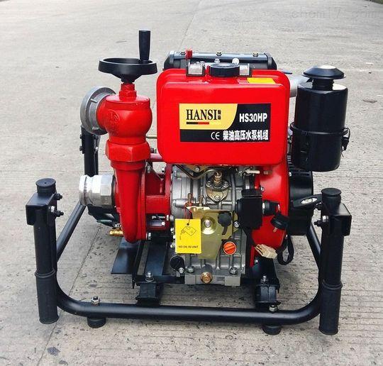柴油机化工水泵机组