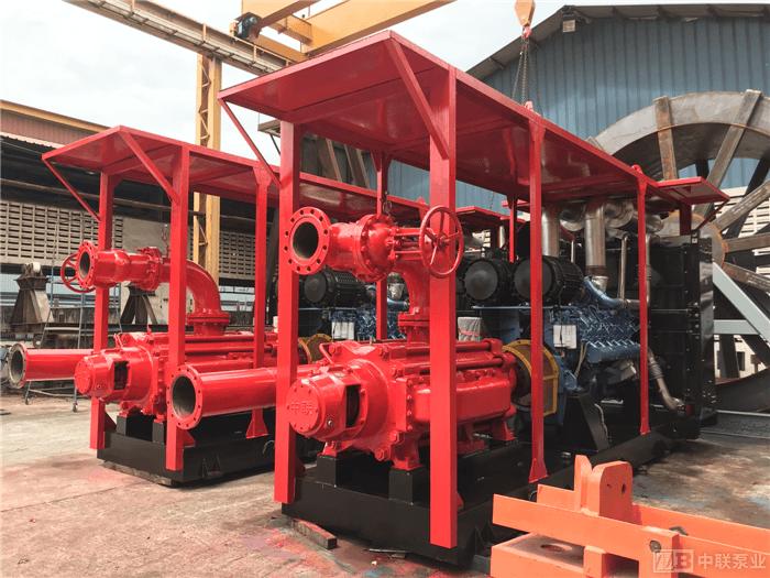 印尼海上油田船用高压海水泵客户案例