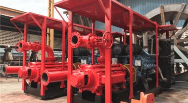 印尼船用高压海水泵项目