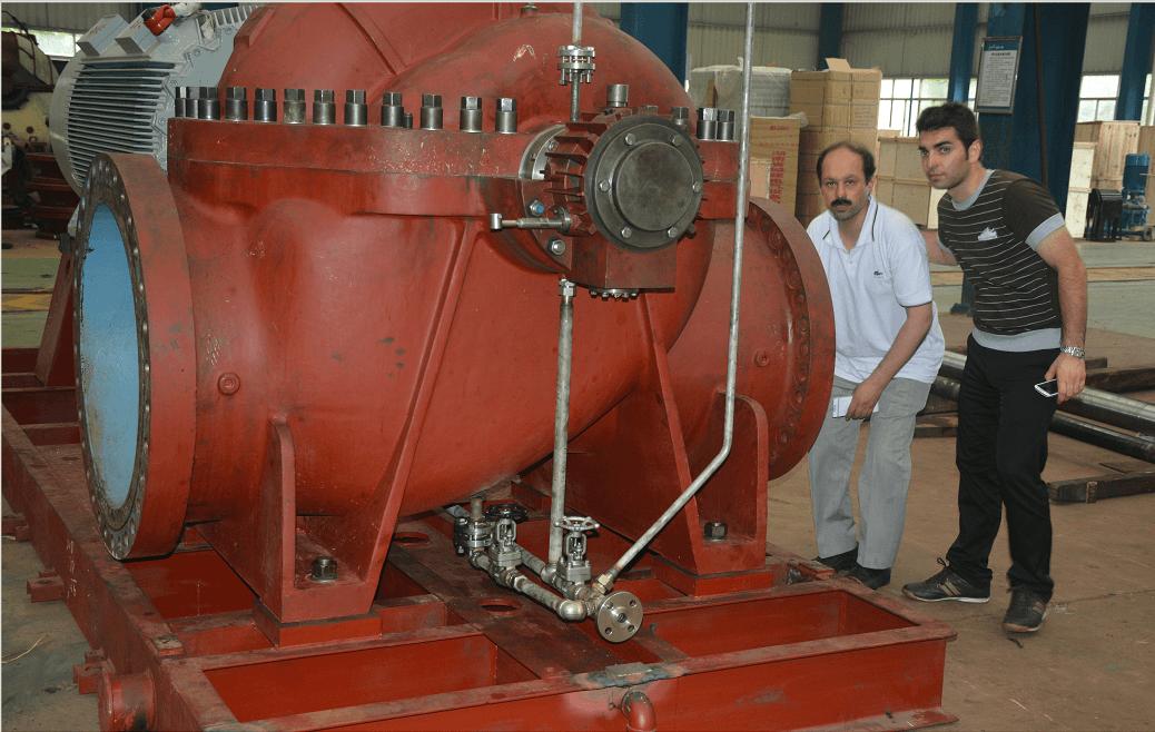 中铁建设集团塔吉克斯坦电厂项目锅炉给水泵客户案例