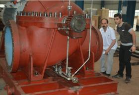 中铁建设集团塔吉克斯坦电厂项目锅炉给水泵