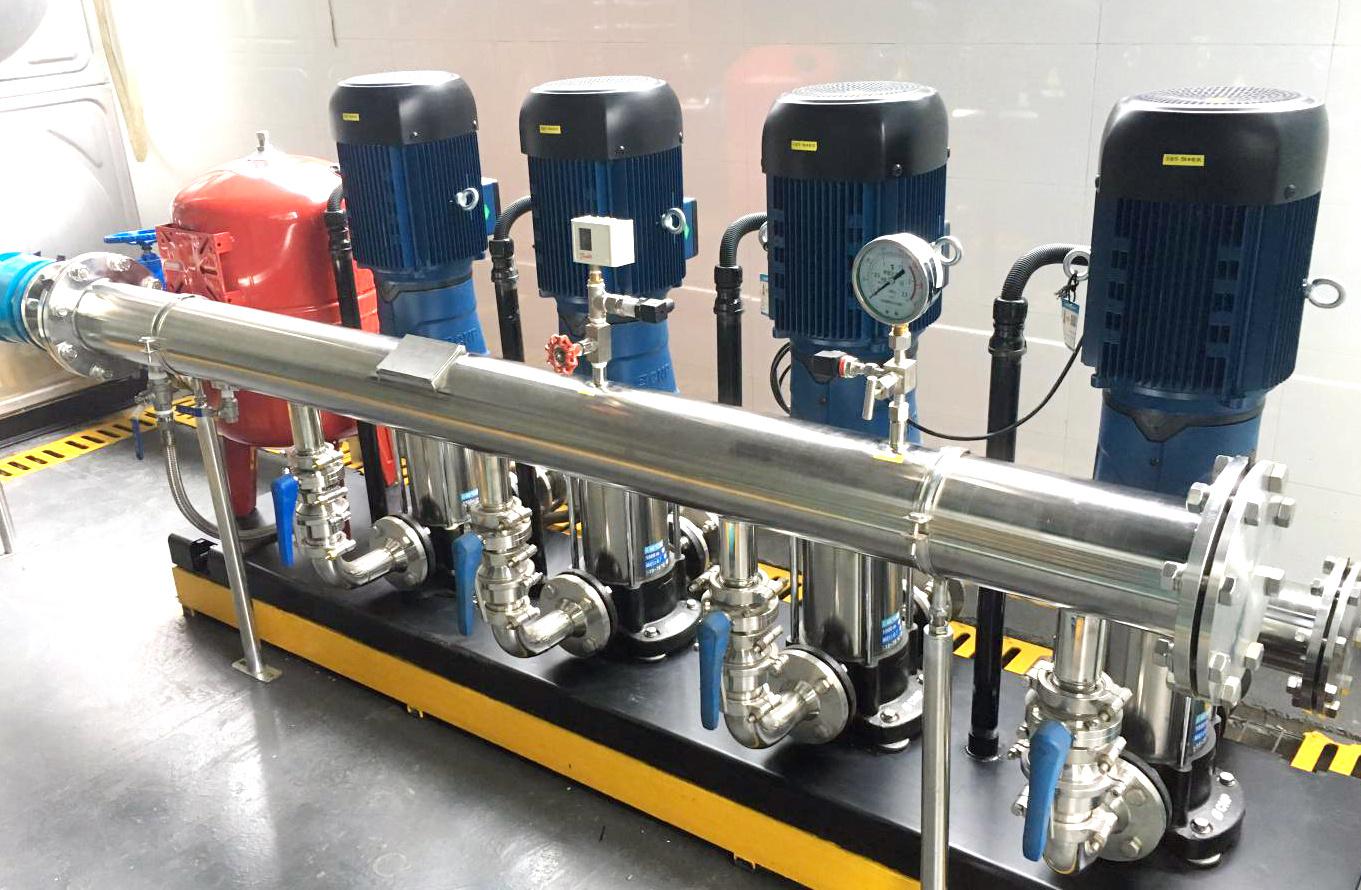 中联泵业数字智慧供水泵组