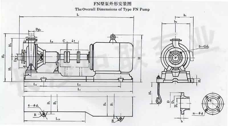 FN型熔融尿素泵安装图