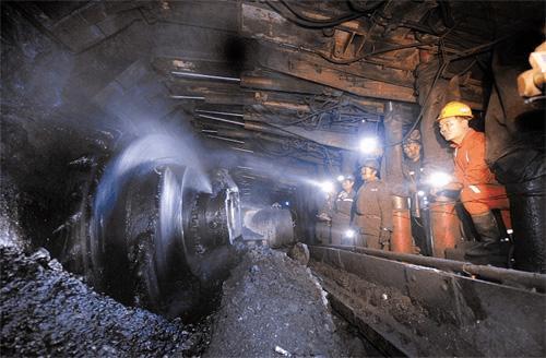 陕西省神木县某矿业有限公司黑龙沟煤矿
